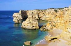 Algarve beach marinha Stock Photos