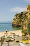 Algarve beach in Portugal Stock Photo