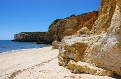 Algarve beach Stock Photo