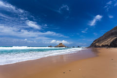 Algarve Castelejo strand, Portugal royaltyfri bild