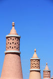 Algarve chimneys Royalty Free Stock Photos