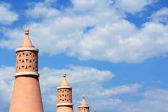 Algarve chimneys Stock Photography