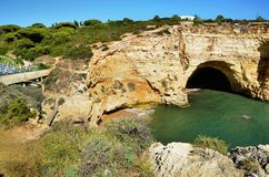Algarve cliffs Stock Images