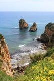 Algarve cliffs Royalty Free Stock Image