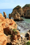 Algarve cliffs Stock Photography