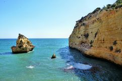 Algarve coast Royalty Free Stock Photos