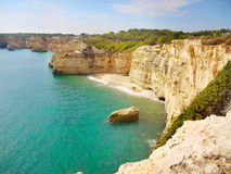 Algarve, Coast and Beach, Portugal. Algarve Coast and Beach, the most popular tourist destination in Portugal royalty free stock photography