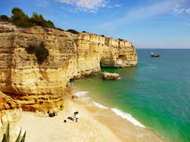 Algarve, Coast and Beach, Portugal Stock Photos