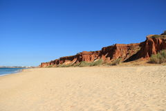Algarve Coast and Beach Portugal Stock Image