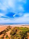 Algarve coast. Beautiful beach in the Algarve coast, ocean Atlantic, Portugal Stock Images