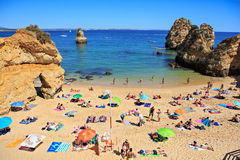 The Algarve coast Stock Image