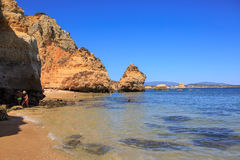 The Algarve coast Royalty Free Stock Image