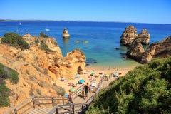 The Algarve coast Royalty Free Stock Image