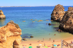 The Algarve coast Stock Images
