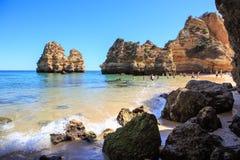 The Algarve coast Stock Photos