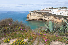 Algarve Coast Landscape, Portugal Stock Photos