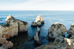 Algarve coast near Lagos, Portugal Stock Image