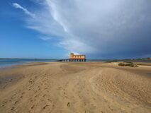 Free Algarve Coast Of Fuseta With Beautiful Wild Nature Royalty Free Stock Photo - 215767715