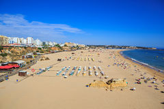 Algarve coast Stock Photo