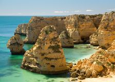 Algarve Coast - Portugal Royalty Free Stock Photography