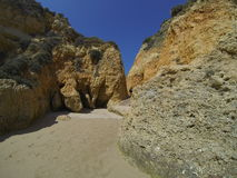 Algarve coast, Portugal Royalty Free Stock Images