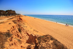 The Algarve coast Royalty Free Stock Photo