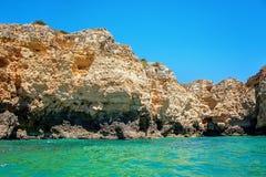 Algarve coast Royalty Free Stock Image