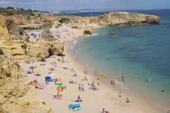 Algarve coast. Sao Rafael beach west of Albufeira along Algarve coast Royalty Free Stock Image