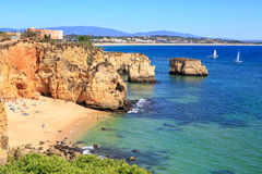 Algarve coast Stock Image