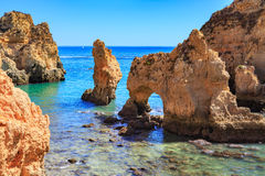Algarve coast Royalty Free Stock Photo
