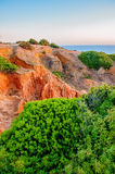 Algarve coast Stock Photography