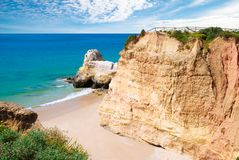 Algarve Cove Stock Photo