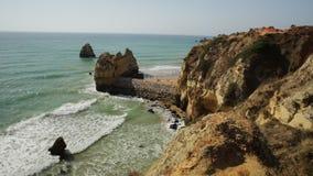 Algarve de zomervakantie stock footage