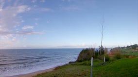 Algarve golfbanalandskap på Ria Formosa stock video