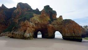 algarve grotta Royaltyfri Bild
