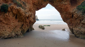 algarve grotto Royalty Free Stock Images