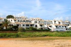 Algarve houses Stock Image