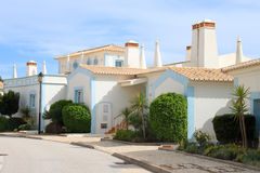 Algarve houses Royalty Free Stock Photos