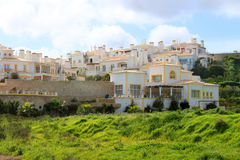 Algarve houses Royalty Free Stock Images