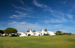 algarve houses den traditionella portugisen Arkivfoton