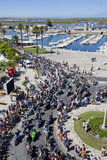 Algarve International Motorcicle Rally. Faro, Portugal - July 17:  Motorcyclists in the 30th International Motorcycle Rally, this year with 30 thousands Stock Photo