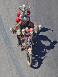 Algarve International Motorcicle Rally. Faro, Portugal - July 17: Motorcyclists in the 30th International Motorcycle Rally, this year with 30 thousands royalty free stock image