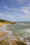 Algarve kust Royalty-vrije Stock Afbeeldingen