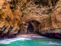 Algarve kust Fotografering för Bildbyråer