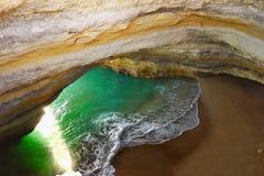 Algarve, kust och strand, Portugal Arkivbilder