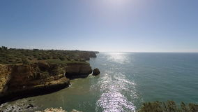 Algarve Kust Portugal stock footage