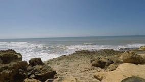 Algarve Kust Portugal stock video
