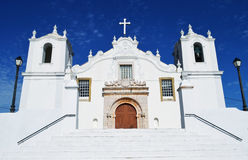 Algarve kyrka Arkivbild