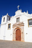 Algarve kyrka Arkivfoto