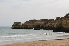 Algarve, la région célèbre au Portugal Images stock